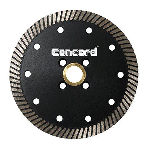 Turbo Rim Diamond Blade (Concord Blades CTN045A10SP 4-1/2 Inch Continuous Rim Narrow Turbo Teeth Diamond Blade by Concord Blades)