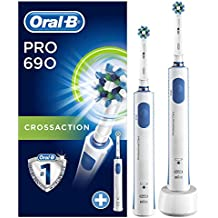 Oral-B PRO 690 CrossAction Cepillo eléctrico recargable, pack regalo