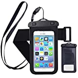 Safeseed® Universal Waterproof Mobile Phone Pouch with Arm Band Strap(Color May Vary)