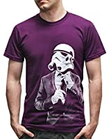 Inspired cool retro Star Trooper tie and suit Printed t shirts corporate galaxy war tshirt