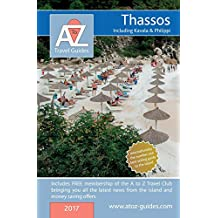 A to Z Guide to Thassos 2017, including Kavala and Philippi