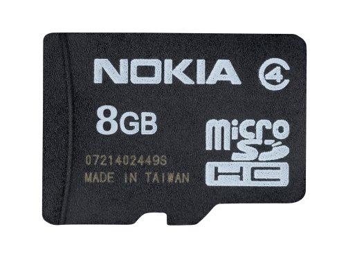 Nokia MU-43 MicroSD/HC 8 GB Speicherkarte