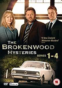 The Brokenwood Mysteries - Series 1-4 Box Set [DVD]