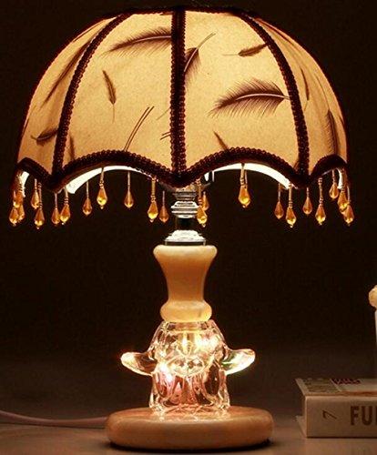 Camera da letto semplice lampada da comodino matrimonio camera decorazione matrimonio regali crinoidi foglia di acero , c feather