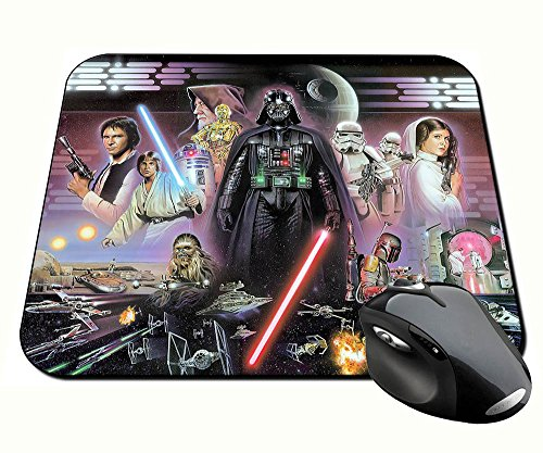 Preisvergleich Produktbild La Guerra De Las Galaxias Star Wars Saga D Mauspad Mousepad PC