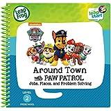 Leapstart Preschool: Around Town with Paw Patrol Activity Book (3D Enhanced)