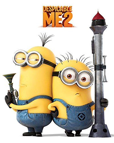 Despicable Cattivissimo Me 2 Poster Pack Armed Minions 40 x 50 cm (5) Pyramid International