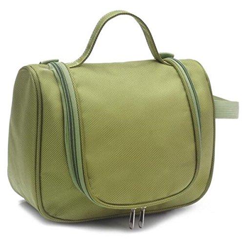 Jia Qing Sacchetto Cosmetico Portatile Di Grande Capacità Multifunzionale Del Sacchetto Di Viaggio Del Sacchetto Del Sacchetto Bagno Generale Cosmetico Impermeabile Green