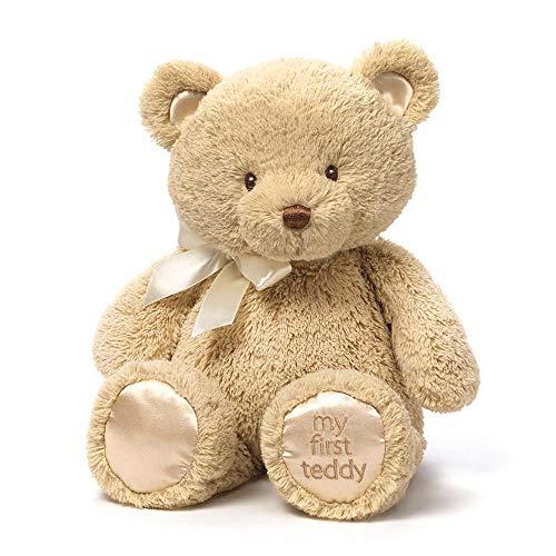 Enesco 4043978 - Gund My First Teddy Plüschtier, medium, tan (Teddy Gund Braun Bär)