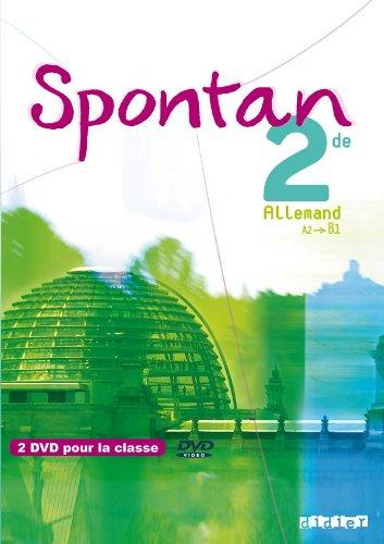 Spontan 2de - A2/B1 - DVD classe par Delphine Bour, Valérie Achékian, Nathalie Faure-Paschal, Claudine Chatenet