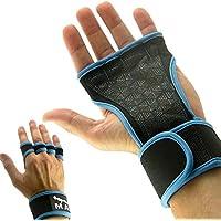 Mava Sports - Guanti da allenamento con polsini di sostegno 3679786704a6