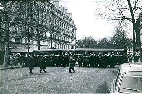 Vintage Photo de 1962manifestations Offre Paris