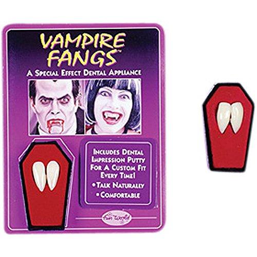 Preisvergleich Produktbild Vampire Fangs With Putty - Perfect For Halloween
