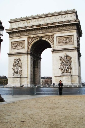 Top 50 Man Made Wonders Arc De Triomphe 150 Page Lined Journal: Top 50 Man Made Wonders  150 Page Lined Journal