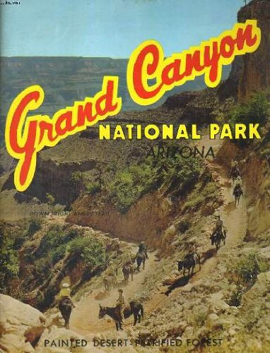 GRAND CANYON, NATIONAL PARK, ARIZONA - Fred Harvey-grand Canyon