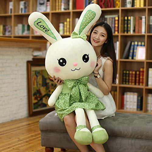 FUYUHAN Plüschtier Plüschtier benutzerdefinierte Puppe Puppe Firma Maskottchen benutzerdefinierte Kaninchen @ Green_170cm