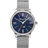 Thomas Sabo Mujer-Reloj para señora Glam Spirit Moonphase azul Análogo Cuarzo WA0326-201-209-33 mm