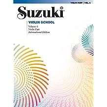 Suzuki Violin School Violin Part, Volume 6