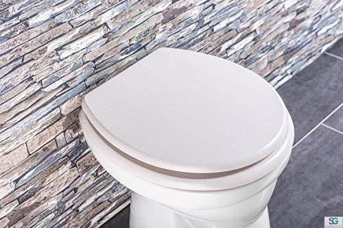 Luxus WC Sitz SAMOS, aus durchfärbtem Duroplast