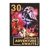 Hallmark Star Wars 30. Geburtstag Karte