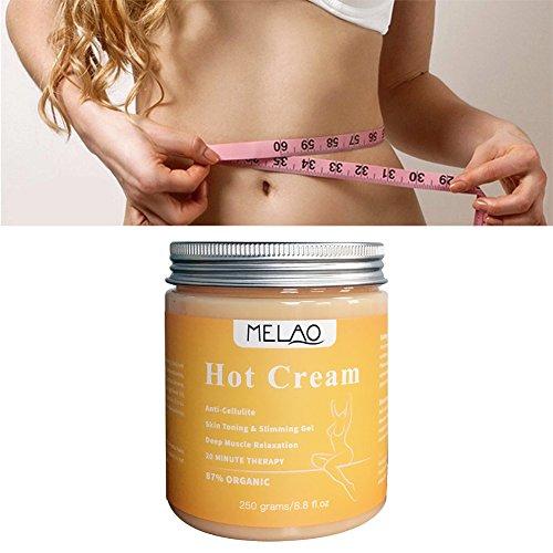 Anti-Cellulite Creme, Abnehmen Gewichtsverlust Creme Massage Creme, Strafft die Haut - Muskelentspannungscreme, zur Verbesserung der Haut Kontur