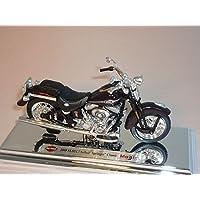 Harley Davidson 2005flstci Softail Springer Classic Nero 1/18Maisto Modellmotorrad Modell Motorrad