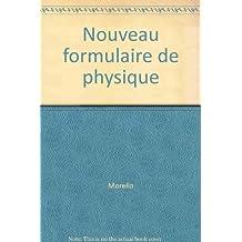 Nouveau formulaire de physique