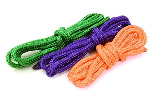 Integy RC Model Hop-ups C26935 1/10 Model Scale Heavy Duty Recovery Rope (3) for Off-Road Crawler (Heavy-duty-recovery)