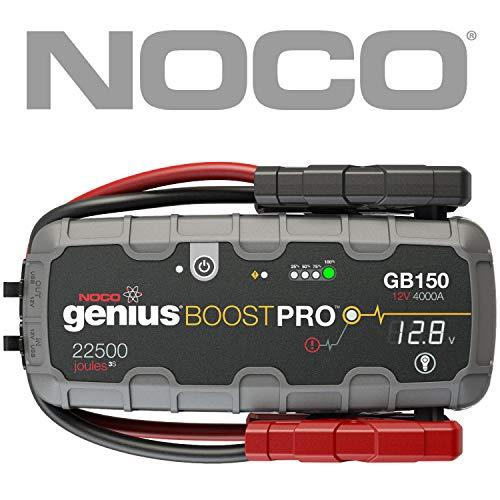 NOCO Boost Pro GB150 4000 Ampere UltraSafe Lithium Starthilfegeräte Auto Starthilfe für bis zu 10L Benzin und Dieselmotoren