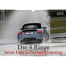 Die 4 Ringe beim Fahrsicherheitstraining (Wandkalender 2019 DIN A4 quer): Audi TT 8N und 8J (Monatskalender, 14 Seiten ) (CALVENDO Mobilitaet)