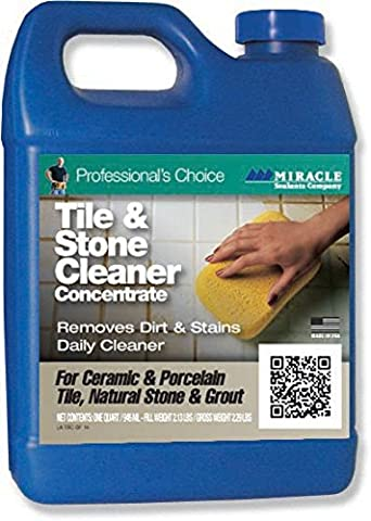 Miracle Sealant Tile & Stone Cleaner 32oz, Model: TSC QT SG, Tools & Outdoor Store by Go Outdoor