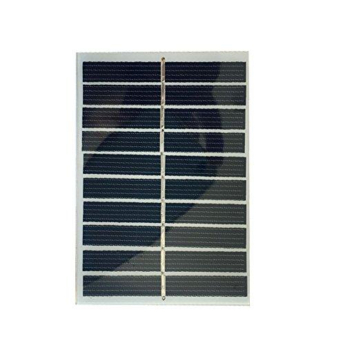 Shsyue®5V/0.8W/160mA Mini Solar Panel Solarmodul Polykristalline Silizium DIY Kompakte Größe Maximale Leistung für Haus Beleuchtung