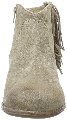 MANASCAROLINA - Stivali Desert a gamba corta, imbottitura leggera Donna Verde (Grün (KAKI+KAKI))