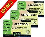 Beaute Et Sante Best Deals - Santé Verte - Sérotisol - Complexe à base de Bacopa Monnieri pour soulager le stress et le système nerveux - Lot de 3 x 20 comprimés