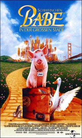 Schweinchen Babe in der großen Stadt [VHS]