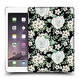 Head Case Designs Offizielle Julia Badeeva Weisse Rosen 2 Gemischte Muster 4 Ruckseite Hülle für iPad Air 2 (2014)
