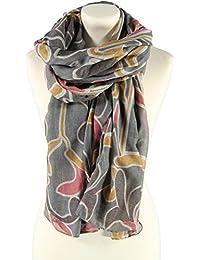 Passigatti Damen Polyester-Viskose Schal