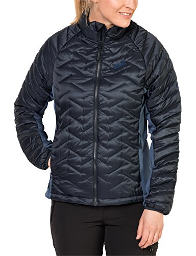Jack Wolfskin Damen ICY Water Jacke Wattiert, Night Blue, XXL