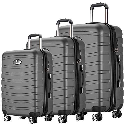 REISEKOFFER REISEKOFFERSET Trolley Koffer 3 Set XL