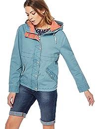 Debenhams Mantaray Womens Dark Turquoise Washed Jacket