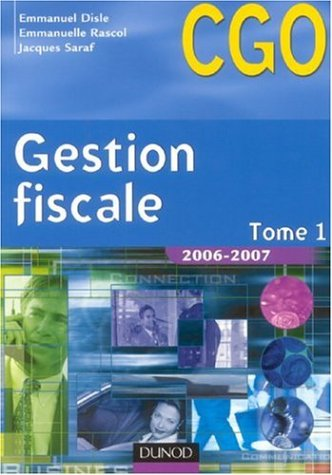 Gestion fiscale BTS CGO : Tome 1