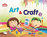 Gikso Art and Craft 2 – Activity Book for Kids Age 5 to 8 Years Old Includes Colouring Activities (English)