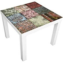 Vinilo adhesivo para muebles IKEA - Lack table Old Patterns, Tamaño:55cm x 55cm