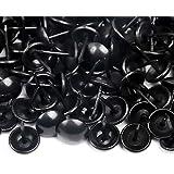 200 Bekleding Nagel ø11 mm kleur zwart - decoratieve meubels nagels
