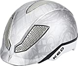 KED Pina Ride & Bike Helmet Kids Silver Matt Kopfumfang 50-53 cm 2017 mountainbike helm downhill