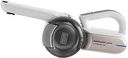 Black+Decker 14.4V Lithium-ion Pivot Dustbuster/Cyclonic Hand Vacuum Cleaner, Champagne, 1 kg, PV1420L-B5