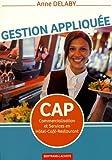 Telecharger Livres Gestion appliquee CAP Commercialisation et Services en Hotel Cafe Restaurant CSHCR (PDF,EPUB,MOBI) gratuits en Francaise
