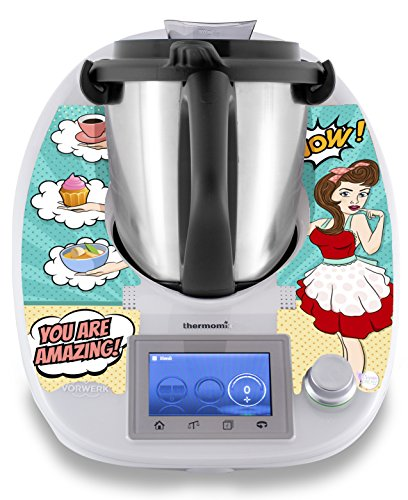 "Thermomix Aufkleber Sticker Stickerdream ""Magic Hands\"" - Pop-Art - Made in Germany (TM5)"