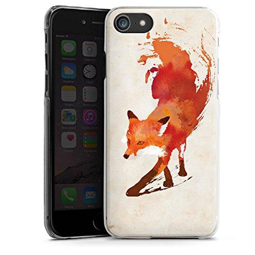 Apple iPhone 6s Tasche Hülle Flip Case Fuchs Vulpes Art Hard Case transparent