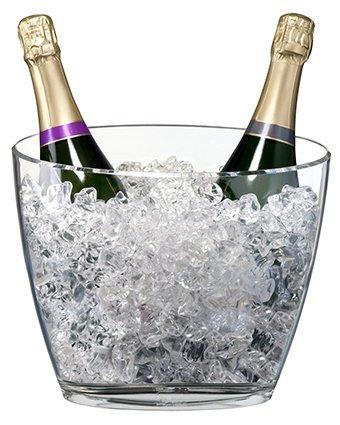 Seau à champagne Acryl pour 2 bouteilles de vin